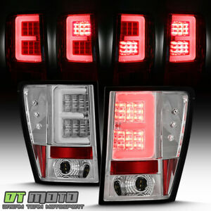 New 2005 2006 Jeep Grand Cherokee Led Tube Tail Lights Brake Lamps Left Right