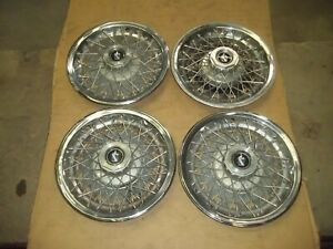 1978 78 1979 79 Buick Regal Hubcap Rim Wheel Cover Hub Cap 14 Wire Used 1080 4