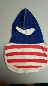 Nomex Firefighting Protective Hood Red White Blue