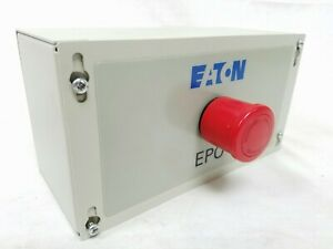 Eaton Epo Emergency Remote Power Off Switch Button For Ups Outputs