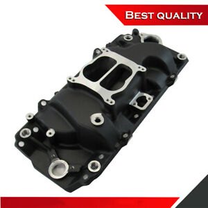 Suit Big Block Chevy 396 454 Intake Oval Port 1500 6000 Rpm Manifold Black