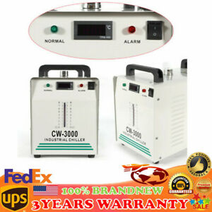 Cw 3000 Co2 Industrial Water Chiller Thermolysis Cooling For Glass Laser Tube Us