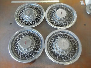 1978 78 1979 79 Oldsmobile 88 98 Hubcap Rim Wheel Cover Hub Cap 15 Wire 4060 4