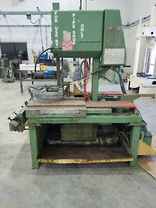 14 Dp X 21 Tall Doall Hydraulic 45 Tilting Frame Vertical Band Saw tf 1421