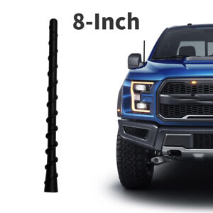 Antenna Mast 8 Signal Aerial For 2009 2019 Ford F150 Dodge Ram 1500 2500 3500