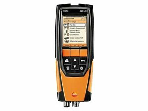 Testo 320 Flue Gas Combustion Analyzer W case O2 Co Co2 0563 3220 70