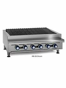 36 Commercial Gas Radiant Char Broiler Grill Counter Top