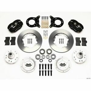 Wilwood 140 11073 Forged Dynalite Front Brake Kit For 1970 1973 Ford Mustang