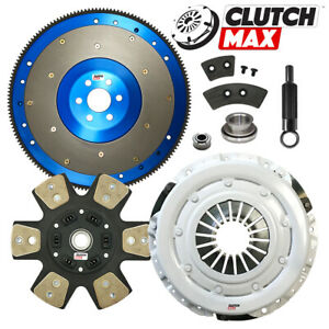 Stage 4 Clutch Kit 11 Lbs Flywheel Fits Fox Body Mustang T5 Tremec Tko 26 Spline