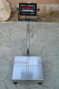 Op 915 Bench Scale 60 Lb X 002 Lb Digital 16 x 16 Shipping Scale 30kg X 1g