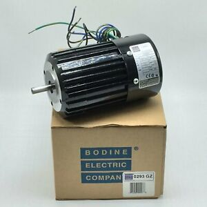New Bodine Electric Ac Induction Motor 1 7hp 115vac 3400rpm Pn 34r6bfci