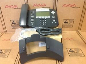 Polycom Sound Point Ip 650 Sip 2201 12630 001 Digital Telephone