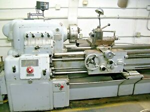 Monarch M 2785 20x72 Engine Lathe With Sony 2 axis 0001 Dro 38971
