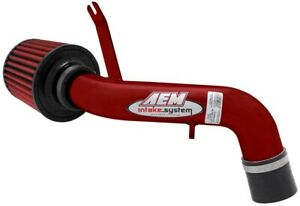 Aem Carb Legal Short Ram Air Intake For Acura 1994 9001 Integra Gsr 1 8l Red