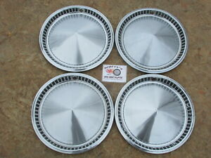 1957 Plymouth Belvedere Savoy Plaza 14 Wheel Covers Hubcaps Set Of 4 Look