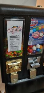 10 Skittles Vending Machine Candy Stickers Labels With Nutrition And Ingredients