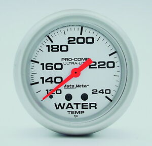 Auto Meter 4432 Gauge Water Temperature