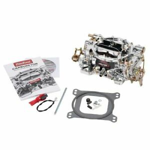 Edelbrock 19024 Avs2 Series 500 Cfm Carburetor With Manual Choke Non Egr