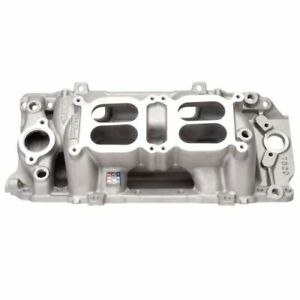 Edelbrock 7520 Rpm Air Gap Dual Quad Intake Manifold For Chevy Big Block