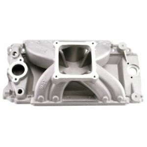 Edelbrock 2916 Super Victor Aluminum Tall Deck Intake Manifold For Chevy B B
