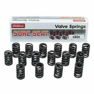 Edelbrock 5802 Sure Seat Performance Valve Springs For 1957 1995 Chevy 262 400