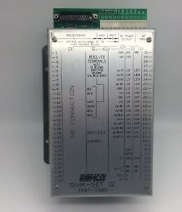 Gemco Quik Set Iv Programmable Limit Switch Mpn 1991 1540