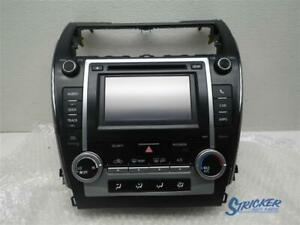 Audio Equipment Radio Display And Receiver Am fm cd Fits 12 Camry 1075109