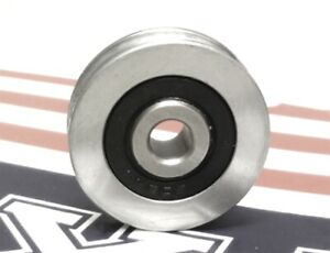 6mm Bore Bearing With 30mm Pulley V Groove Track Roller Bearing 6x30x8mm