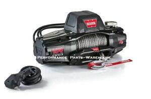 Warn Vr Evo 8 S Standard Duty Winch Synthetic Rope Aluminum Fairlead 8000 Lb