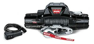 Warn Zeon 10 S Premium Winch Synthetic Rope Aluminum Fairlead 10000 Lb