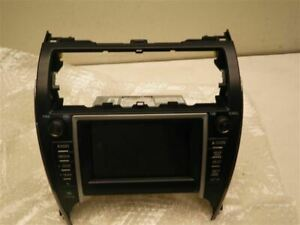 Audio Equipment Radio Display And Receiver Am fm cd Fits 12 Camry 1014753