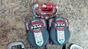 Miller T bak Tie Back Twin Turbo Connector Fall Protection System Free Shipping