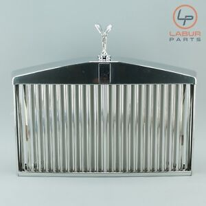 Rolls royce 81 95 Silver Spur Spirit Front Radiator Grill Grille W Flying Lady