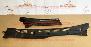 Ionic Dynamics 300zx Vented Cowl Set Rubber Trim Unpainted Free Us Shipping