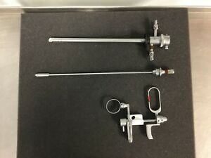 Gynecare Resectoscope Set 3 Pieces Guaranteed Satisfaction