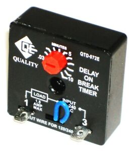 Relay time Delay Qtd 072e