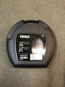 Thule Cs 10 070 Snow Tire Chains One Pair With Case Fits Many Sizes