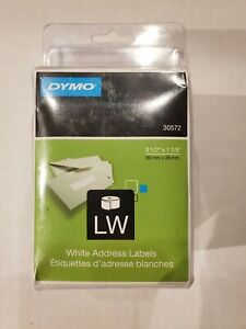 Dymo Lw Label Writer White Address Labels 30572 New In Box