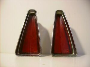 1970 Cadillac Deville Rear Reflectors Tail Light guidex guide68 Sae 5964141i