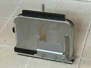 Nikon Microscope Stainless Steel Stage With Specimen Clip For Labophot Optiphot
