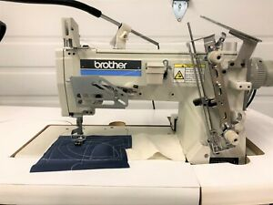 Brother Dt4 b266 Auto 1 Needle Chainstitch 110 Volt Industrial Sewing Machine