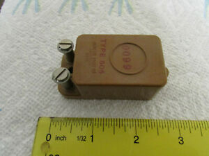 General Radio Co 0 01 f Type 505 Standard Capacitor Vintage With Tiedowns
