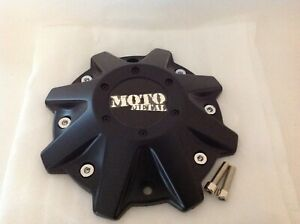 Moto Metal Satin Black Replacement Center Cap Mo970 16 17 18 20 Rims