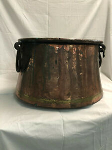Turkish Copper Cauldron Very Nice