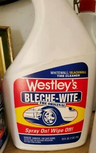 1 Westley s Bleche Wite Tire Sidewall Cleaner The Original Nos Discontinued Htf