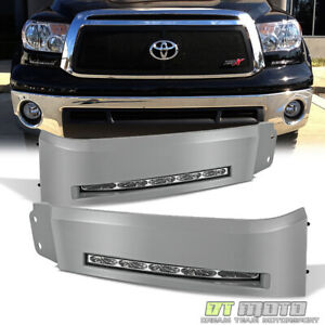 For 2007 2013 Toyota Tundra Built in Led Running Bumper Lights Xsp x Left right