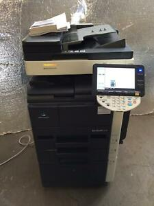 Konica Minolta Bizhub 423 Monochrome Tabloid Mfp Copier Printer Scanner 42ppm