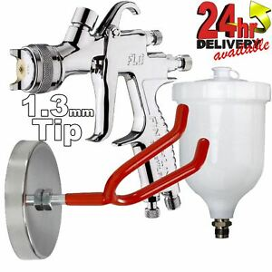 Devilbiss Flg 5 1 3mm Paint Air Spray Gun Wall Mount Holder
