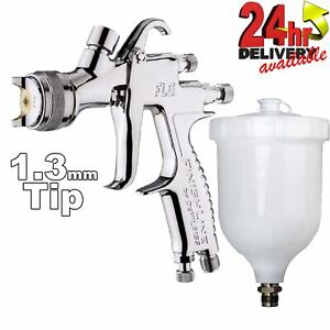 Devilbiss Flg 5 1 3mm Paint Spray Gravity Spray Gun Compliant Gravity Spraygun