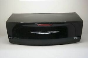11 14 Chrysler 300 Trunk Hatch Tailgate Without Spoiler With Camera Black